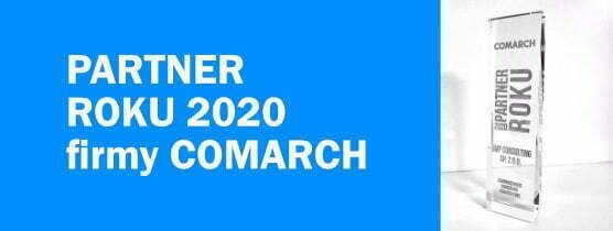 Statuetka Partnerstwo Comarch 2020